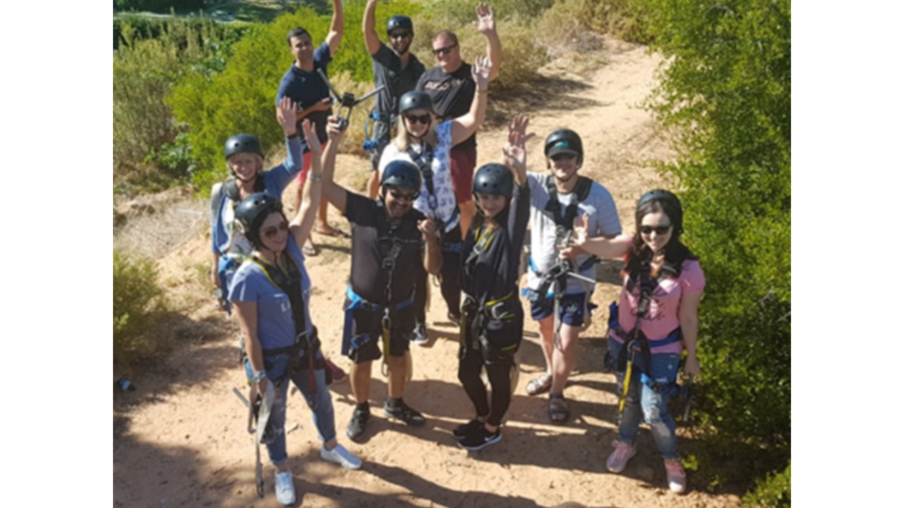 2018: The internal CFBS Annual Life Awards competition qualifiers and their spouses having fun at Piekenierskloof. (2)