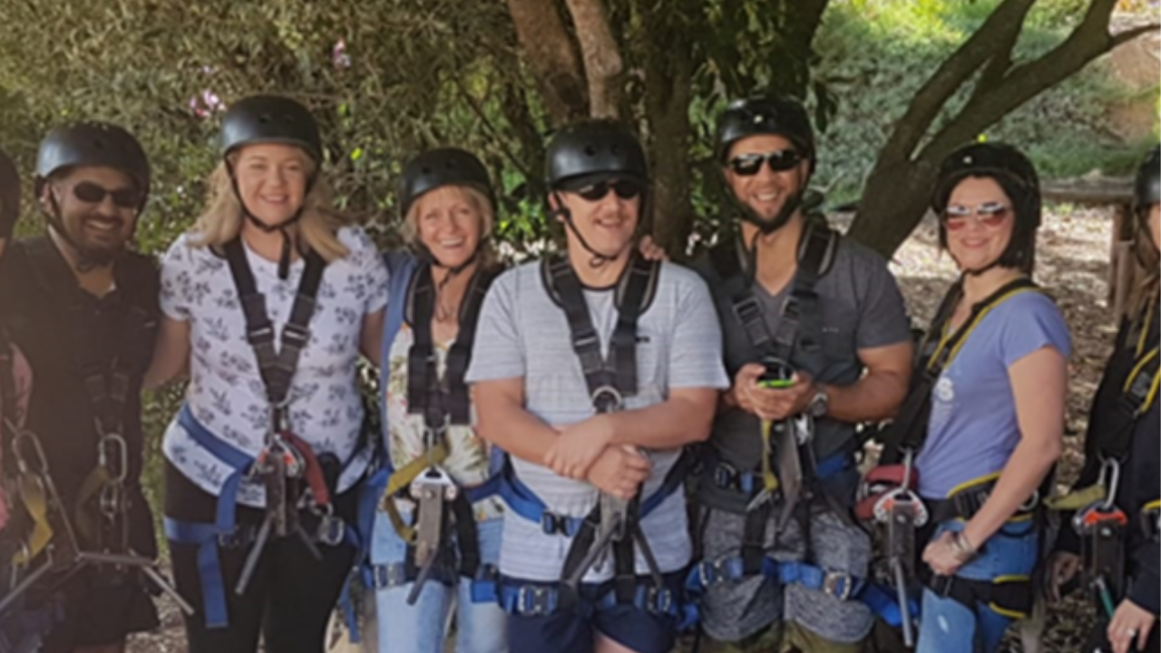 2018: The internal CFBS Annual Life Awards competition qualifiers and their spouses having fun at Piekenierskloof.