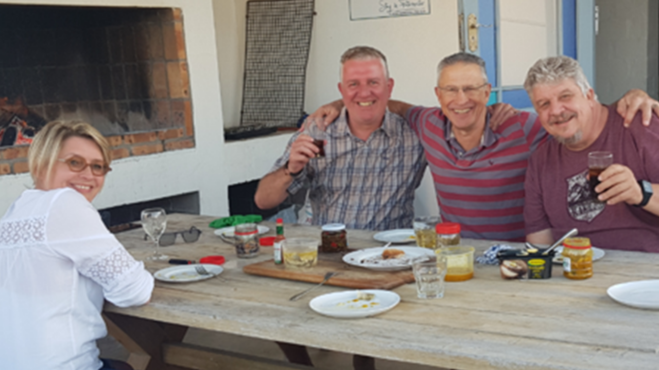 2019: The internal CFBS Annual Life Awards Competition, qualifiers having fun in Paternoster